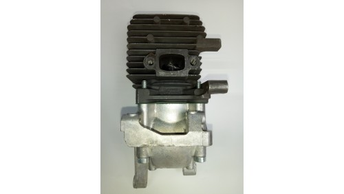 Цилиндр в сборе для мотокосы Stihl FS 55 (d-34мм) + поддон Оригинал