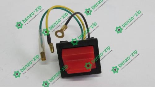 Кнопка выключения двигателя бензогенератора