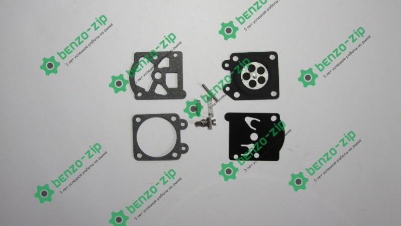 Комплект + игла для ремонта карбюратора бензопил Goodluck 4500