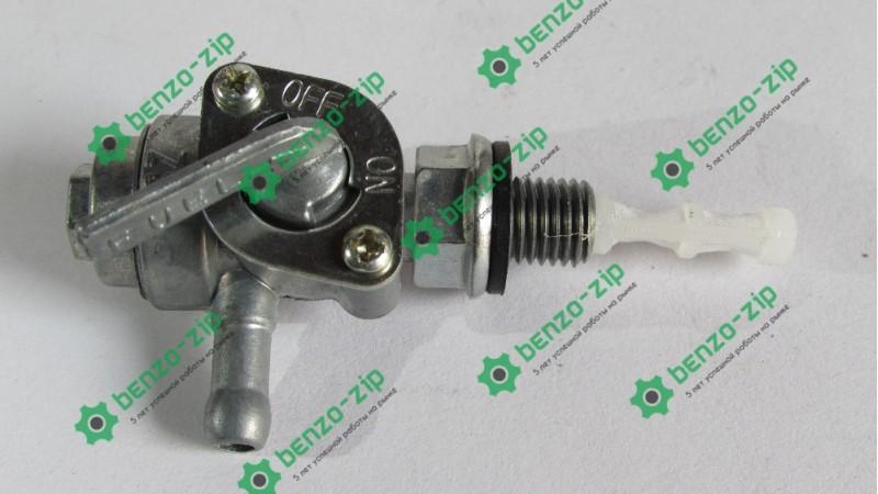 Кран топливный бензогенератора ET-950 (с фильтром, D-10mm)