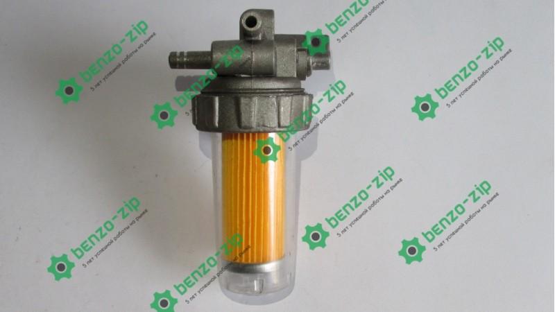 Кран паливний м/б 175n / 180N (7/9Hp) (з фільтром)