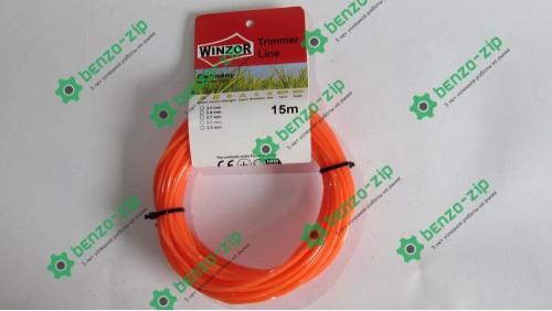 Волосінь 2,0 мм WINZOR, 15 м (зірка)