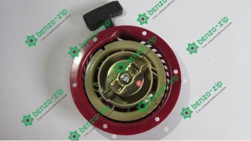 Стартер ручной (в сборе) м/б, бензогенератора 168F/170F (6,5/7Hp, D-150mm) (металлический)