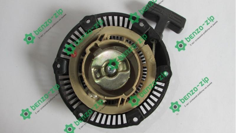 Стартер ручной (в сборе) м/б, бензогенератора 168F/170F (6,5/7Hp, D-150mm) (пластмассовый)