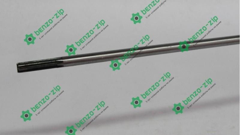 Ведучий вал (жорсткий привід) d-7 мм на 7 шліців для мотокоси Довжина 67 см