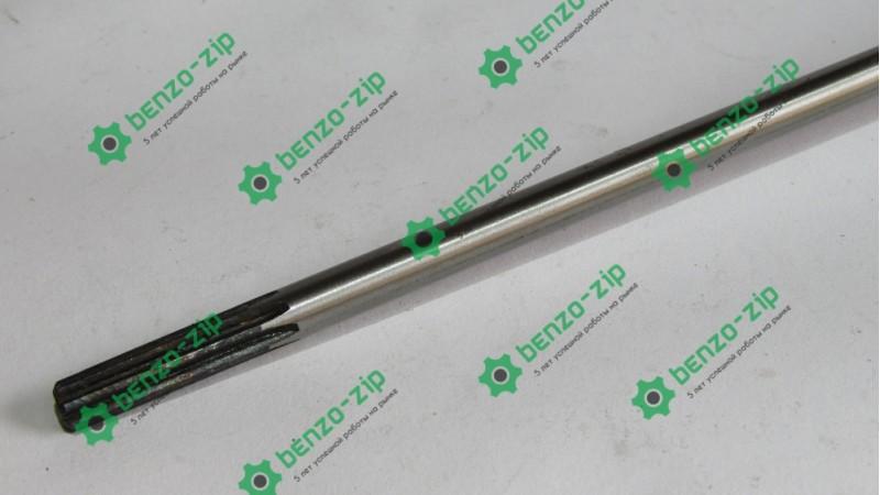 Ведучий вал (жорсткий привід) d-8 мм на 7 шліців для мотокоси
