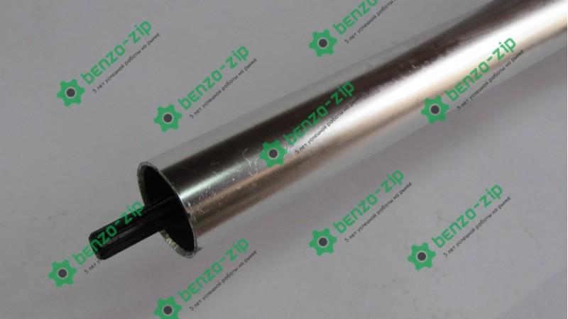 Ведучий вал 26 мм (жорсткий Привід) на 9 шліців для мотокоси в зборі