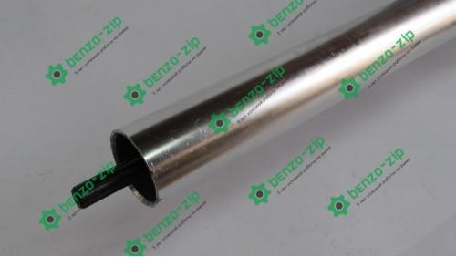 Ведучий вал 28 мм (жорсткий Привід) на 9 шліців для мотокоси в зборі
