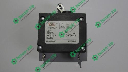 Вимикач автоматичний бензогенератора (10A, 230W)