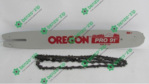 Шина Stihl 40 см 1.3 мм 3/8 + Цепь 55 Oregon оригинал