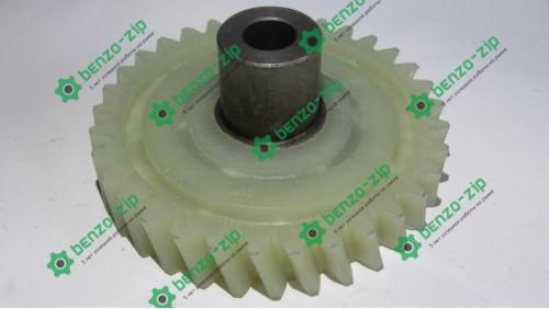 Шестерня ведена приводу електропили Vorskla (d-10mm, D-74мм 33 шліцов з лівим нахилом, h=19mm)