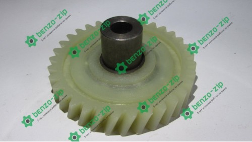 Шестерня ведена приводу електропили Vorskla (d-10mm, D-74мм 33 шліцов з правим нахилом, h=19mm)