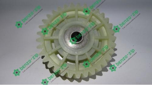 Шестерня ведомая привода электропилы Vorskla (d-10mm, D-74мм 33 шлицов с правым наклоном,h=19mm)